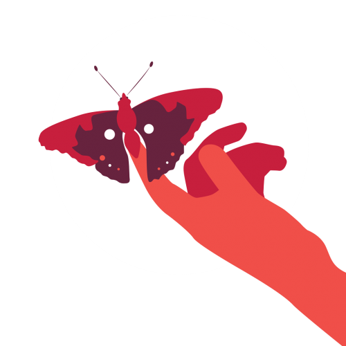 Sogar ein Schmetterling macht Geräusche und trägt so zum Klang der Natur bei