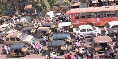 Big city chaos