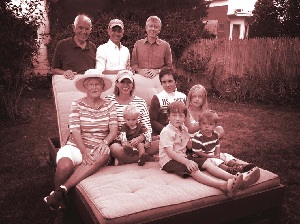 John Walkup's family