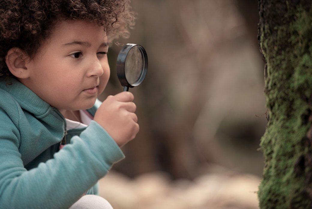 Children love to explore