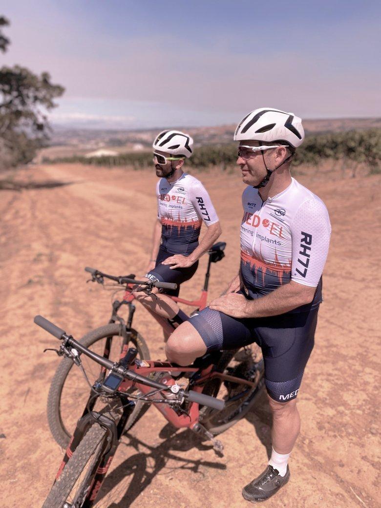 René Haselbacher und Robbie Hunter in Südafrika